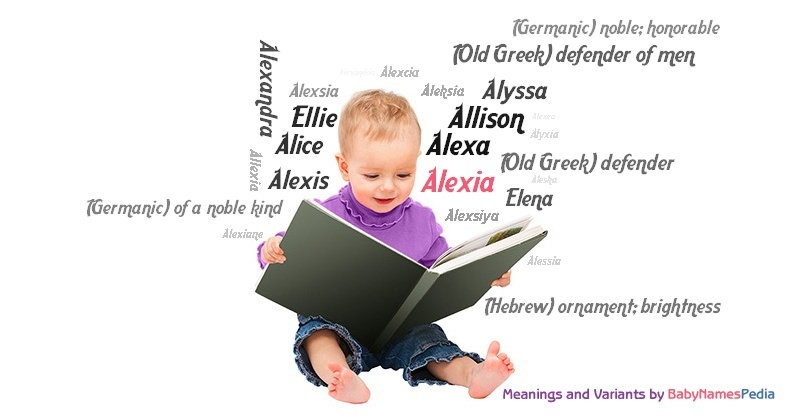 Meaning of the name Alexia