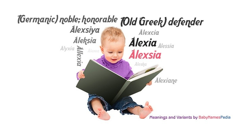 Meaning of the name Alexsia