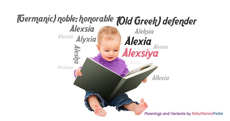 Meaning of the name Alexsiya