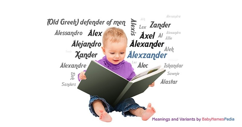 Meaning of the name Alexzander