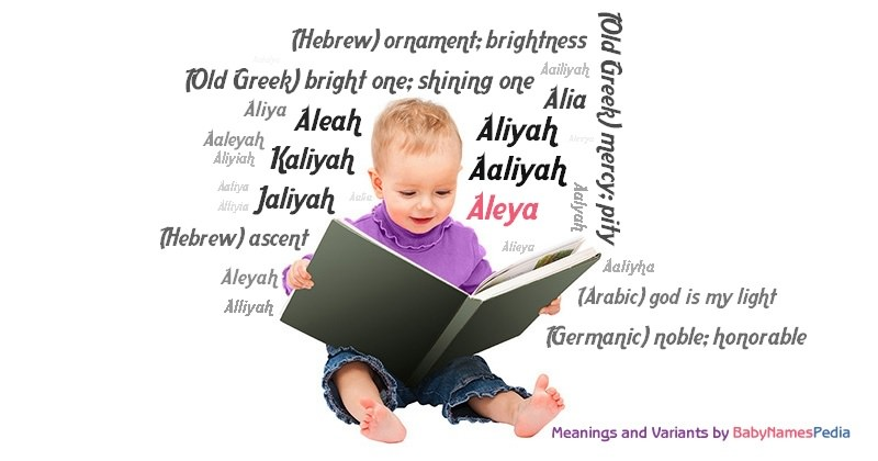 Meaning of the name Aleya
