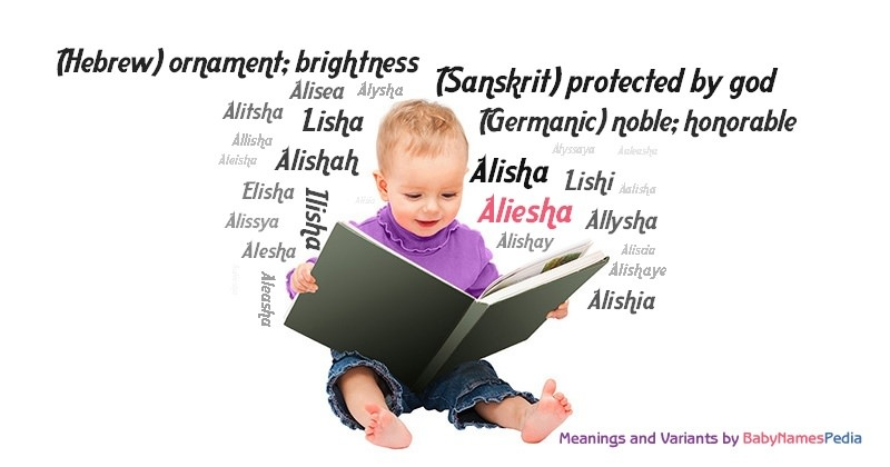 Meaning of the name Aliesha