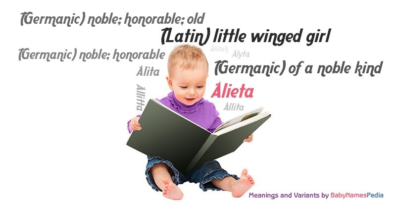 Meaning of the name Alieta