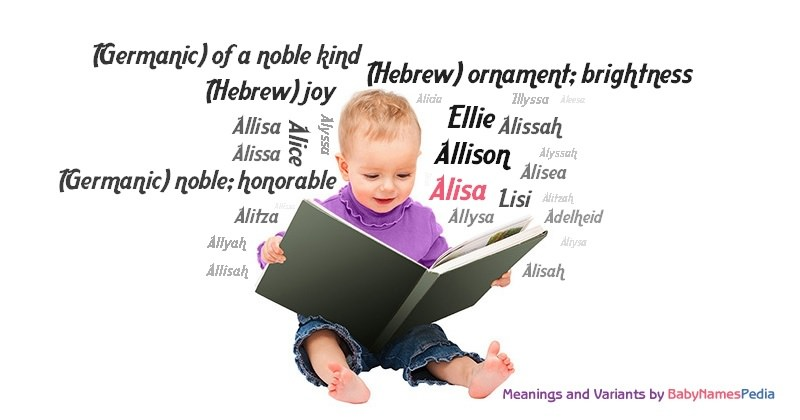Meaning of the name Alisa