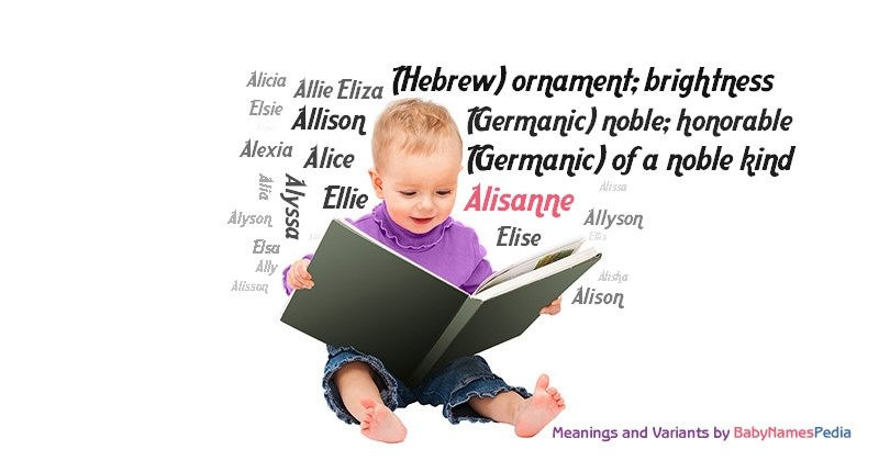 Meaning of the name Alisanne