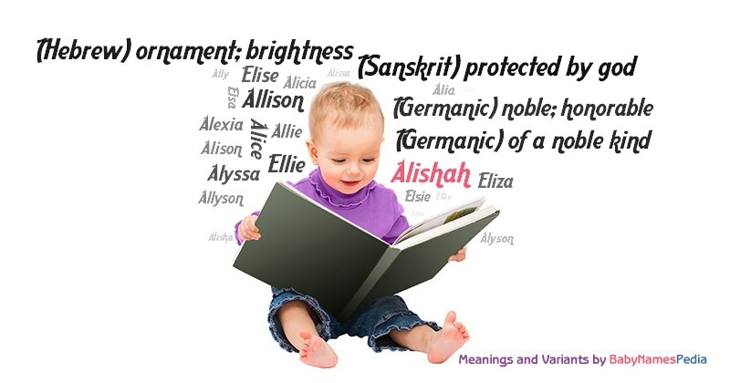 Meaning of the name Alishah