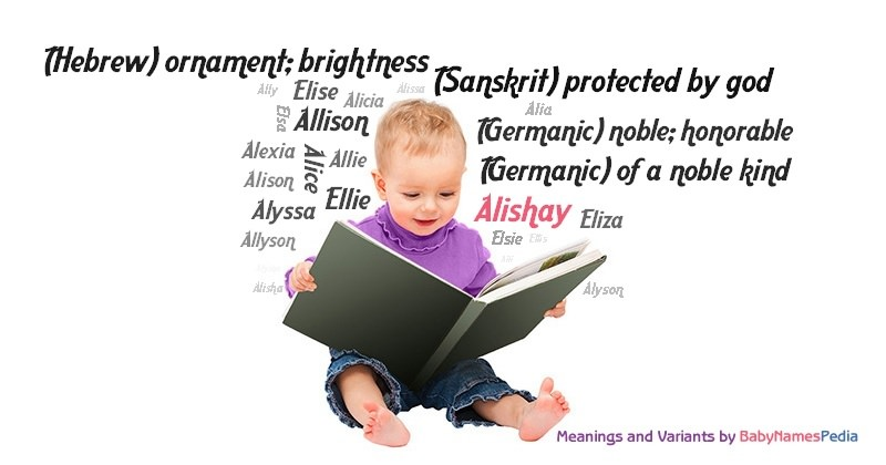 Meaning of the name Alishay