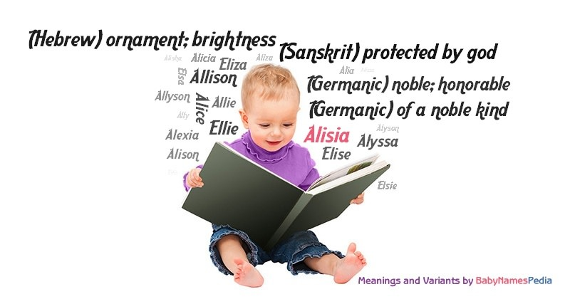 Meaning of the name Alisia