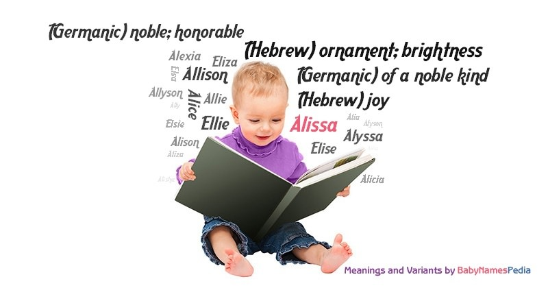 Meaning of the name Alissa