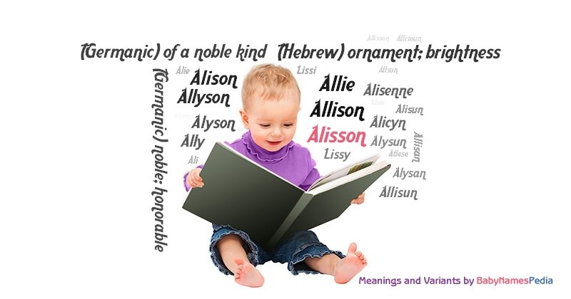 Meaning of the name Alisson