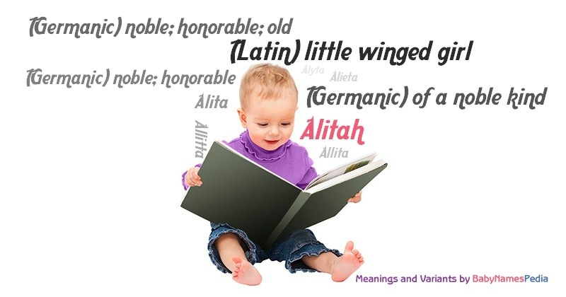 Meaning of the name Alitah