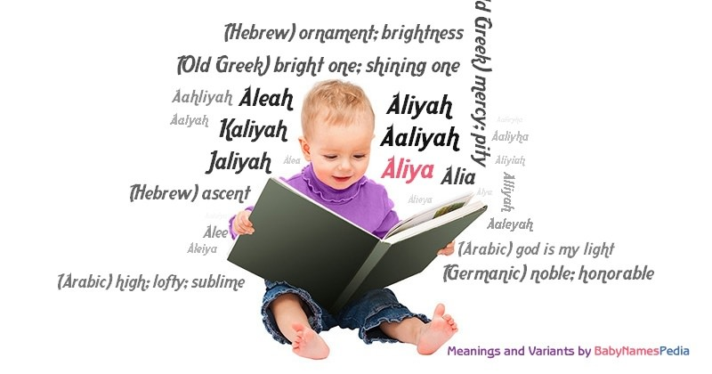 Meaning of the name Aliya
