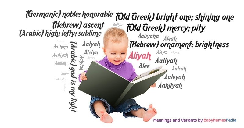 Meaning of the name Aliyah