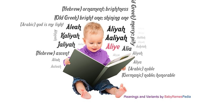 Meaning of the name Aliye