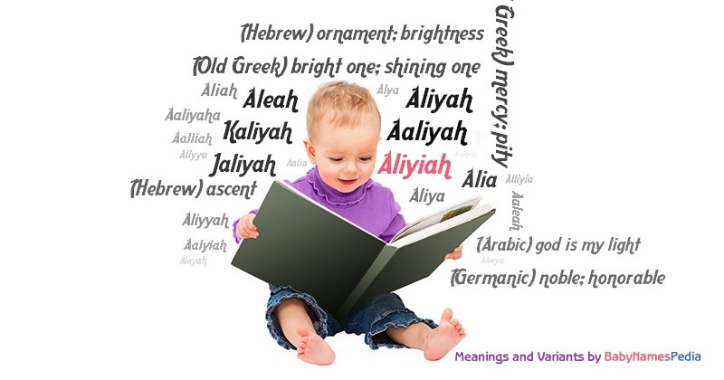 Meaning of the name Aliyiah