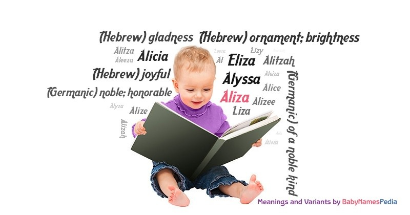 Meaning of the name Aliza