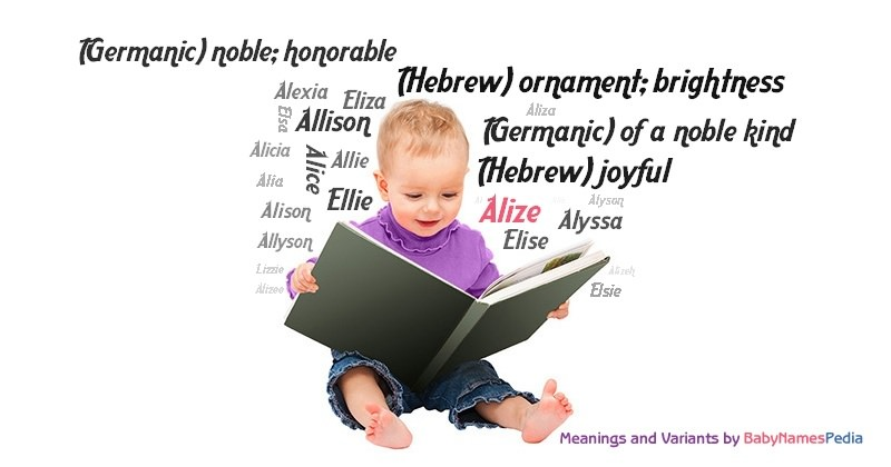 Meaning of the name Alize