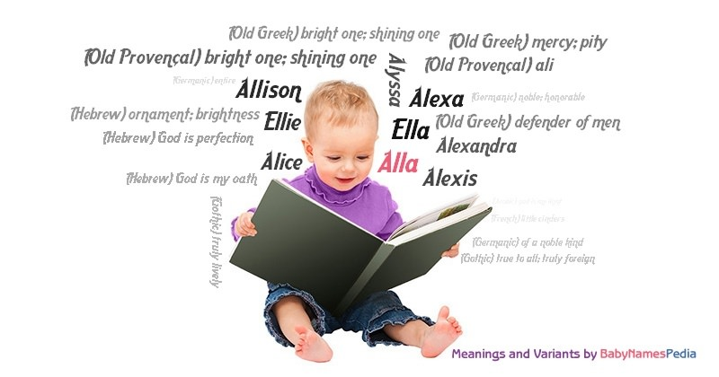 Meaning of the name Alla
