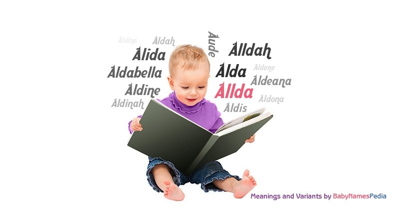 Meaning of the name Allda