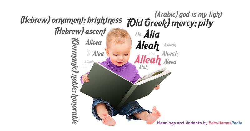 Meaning of the name Alleah