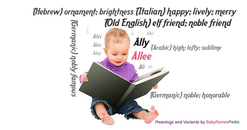 Meaning of the name Allee