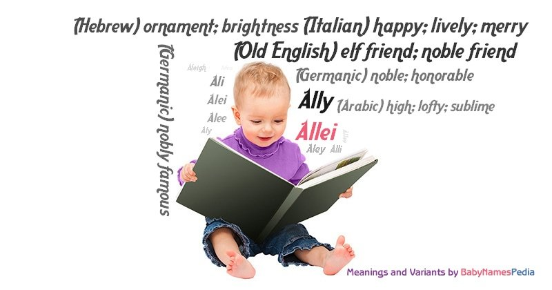 Meaning of the name Allei