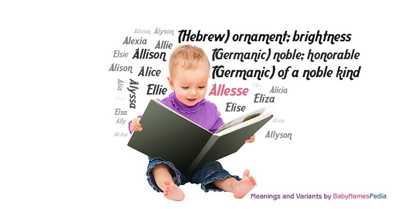 Meaning of the name Allesse