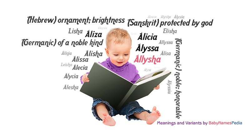 Meaning of the name Allysha