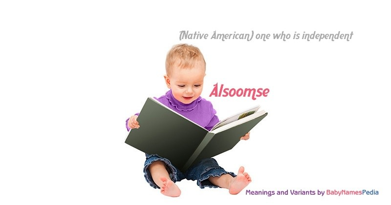Meaning of the name Alsoomse