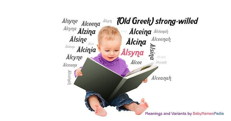 Meaning of the name Alsyna