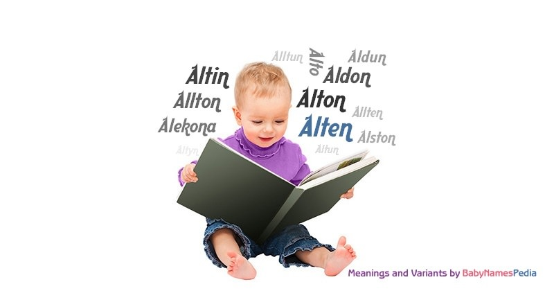 Meaning of the name Alten