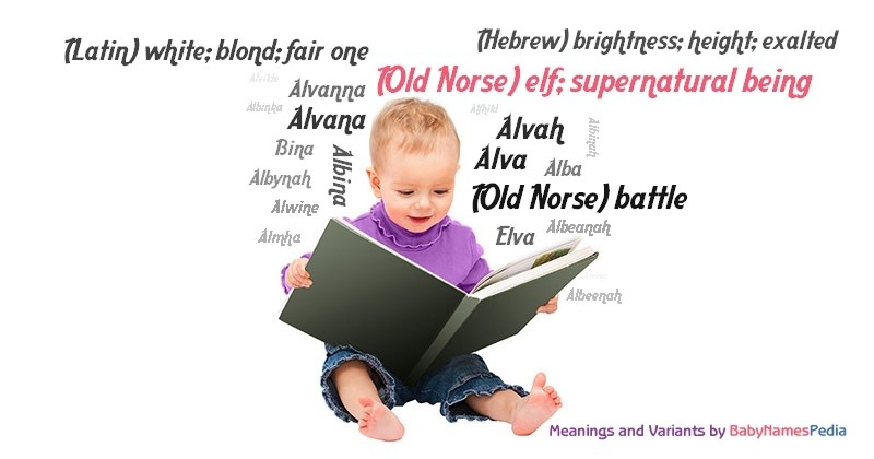 Meaning of the name (Old Norse) elf; supernatural being