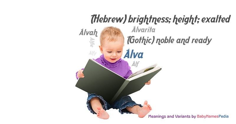 Meaning of the name Alva