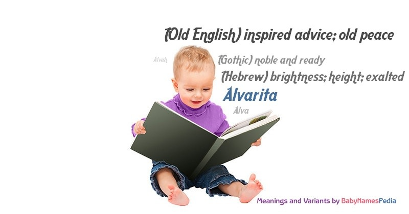 Meaning of the name Alvarita