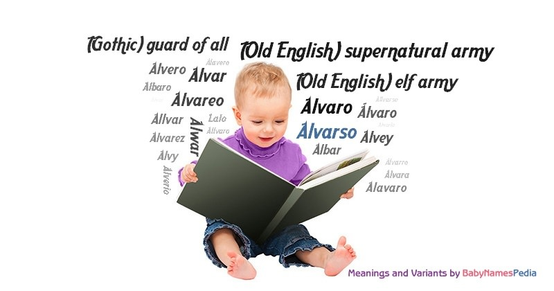 Meaning of the name Alvarso