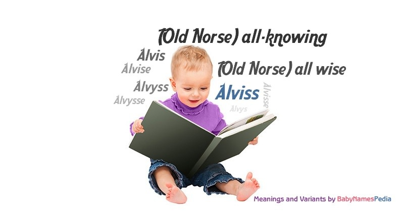 Meaning of the name Alviss