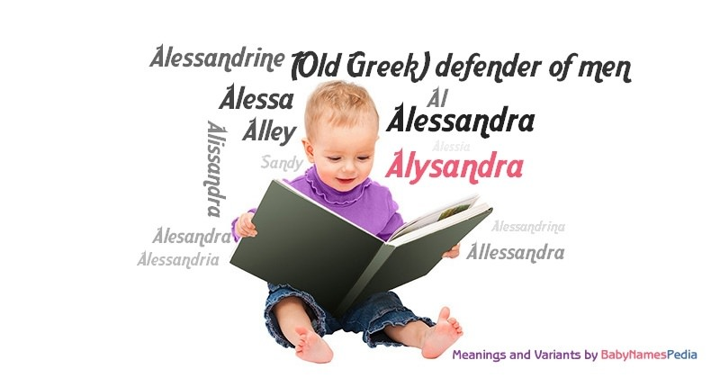 Meaning of the name Alysandra