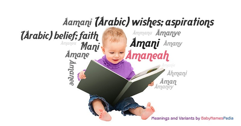 Meaning of the name Amaneah