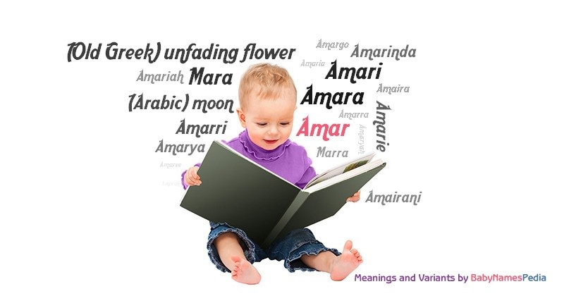 Meaning of the name Amar