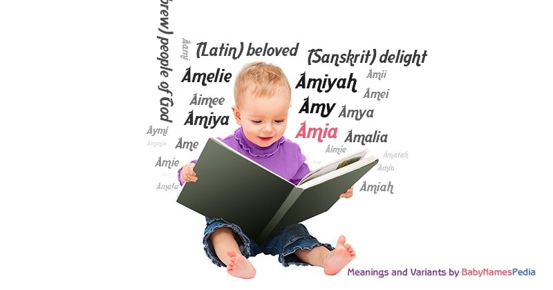 Meaning of the name Amia