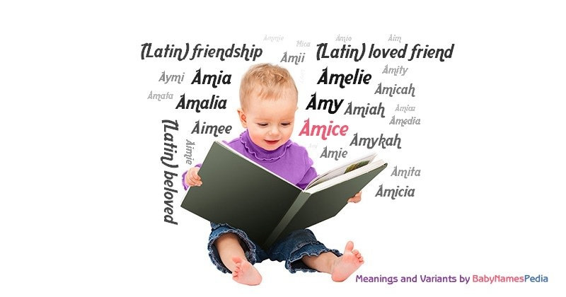Meaning of the name Amice