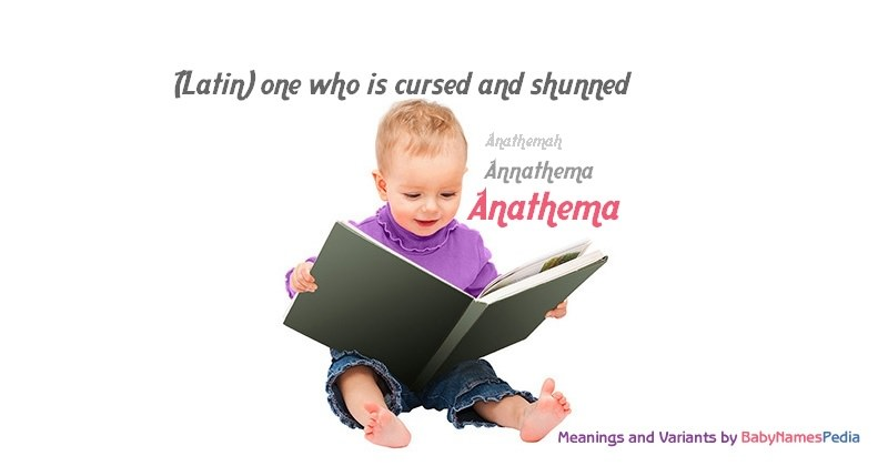 Meaning of the name Anathema