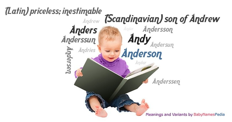 Meaning of the name Anderson