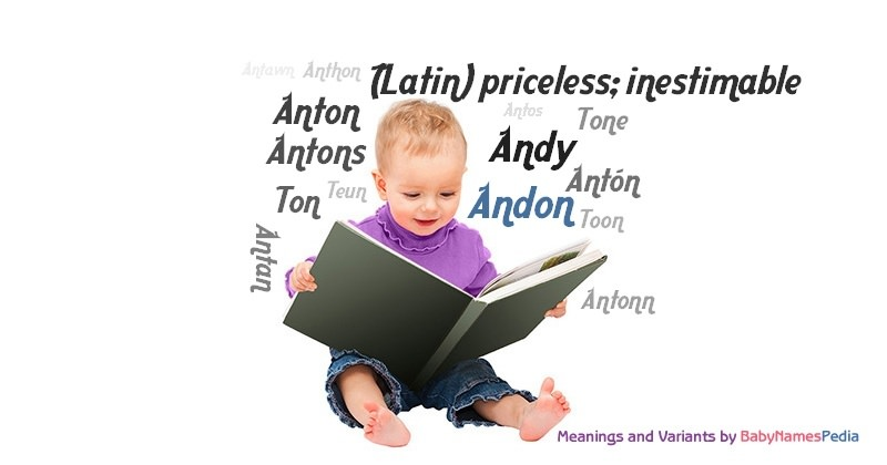 Meaning of the name Andon