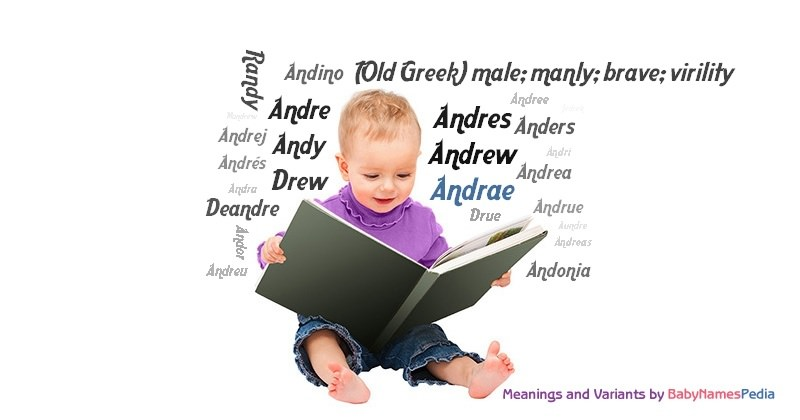 Meaning of the name Andrae