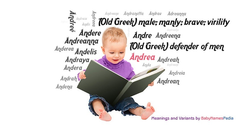 Meaning of the name Andrea