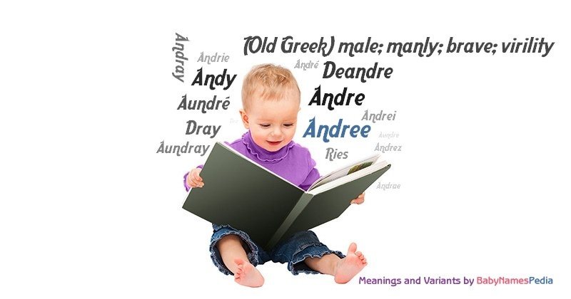 Meaning of the name Andree