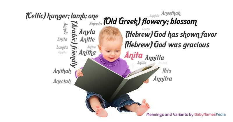 Meaning of the name Anita