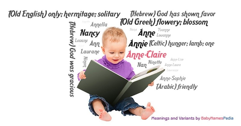 Meaning of the name Anne-Claire