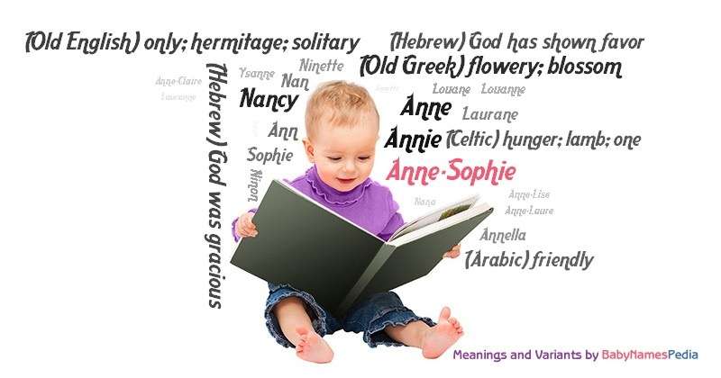 Meaning of the name Anne-Sophie
